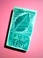Finished rubber stamp mount